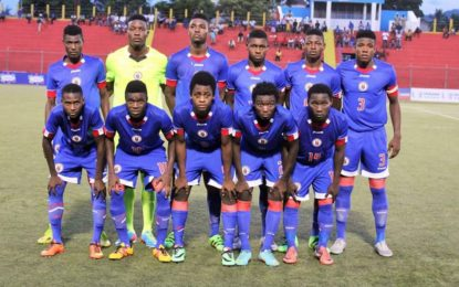 Football /Eliminatoires Coupe du monde masculine U-20 : Haïti gagne 5-1 face à St. Kitts & Nevis malgré des difficultés administratives récurrentes…