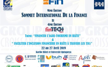 Ouverture du 9e Sommet international de la finance…